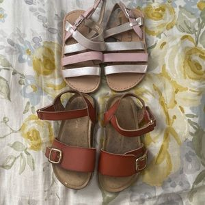 CAT AND JACK AND MISS DYNASTY SANDALS FOR GIRL
